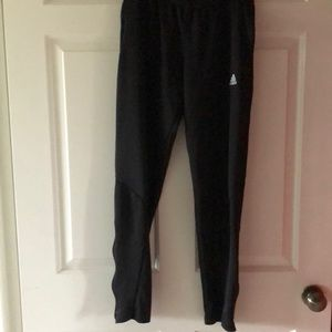 Adidas Black Climalite Soccer Pants 12/14